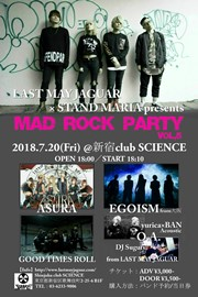 LAST MAY JAGUAR presents『MAD ROCK PARTY Vol.5』